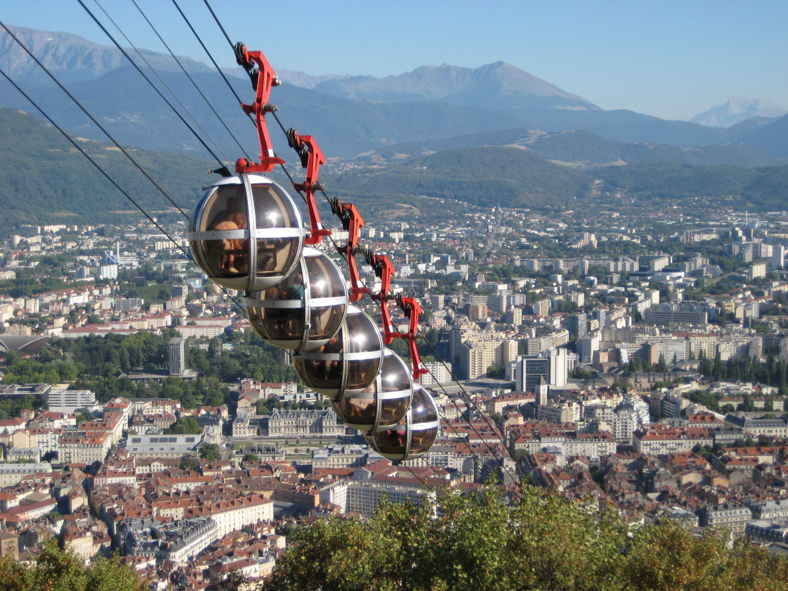 Teleferic of Grenoble